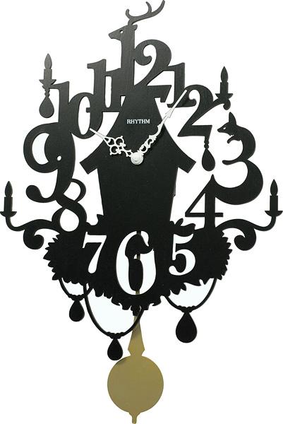 Настенные часы Rhythm CMP533NR02 rhythm настенные часы rhythm cmg771nr02 коллекция