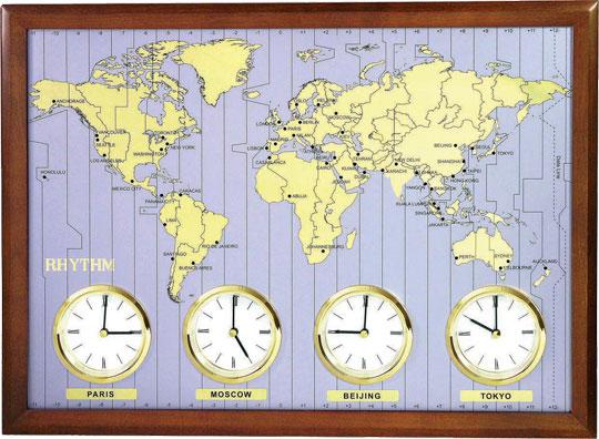 Настенные часы Rhythm CMW902NR06