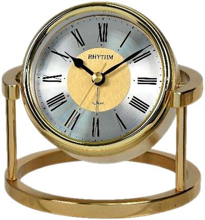 Настольные часы Rhythm CRE958NR18 будильник кварцевый mikhail moskvin цвет серебристый 382 3