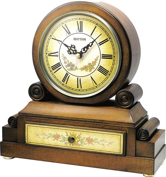 Купить со скидкой Настольные часы Rhythm CRH136NR06