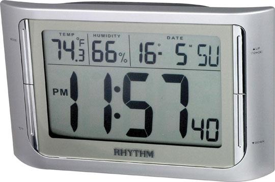 Купить со скидкой Настольные часы Rhythm LCT061NR19