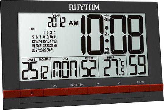 Настольные часы Rhythm LCT073NR02 часы rhythm lct073nr02