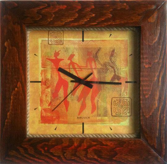 цена на Настенные часы Салют DS-4AS28.5-436-NASKALNAJA-ZHIVOPIS