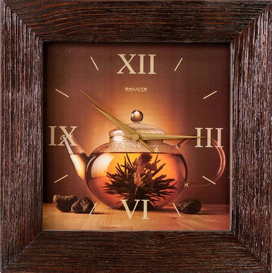 Настенные часы Салют DS-4AS6-104 настенные часы салют p 2a6 073