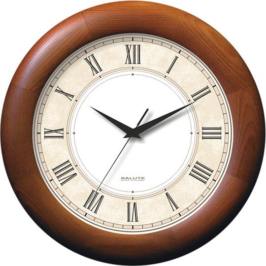Настенные часы Салют DS-BB28-023 настенные часы салют p 2a6 073