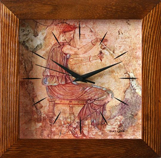 Настенные часы Салют DST-2AS28-602-DEVUSHKA