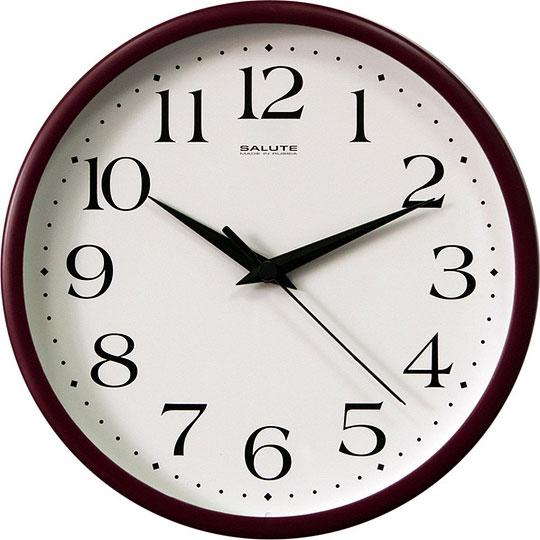 Настенные часы Салют P-2B1.3-015 настенные часы салют p 2b5 367 vmf