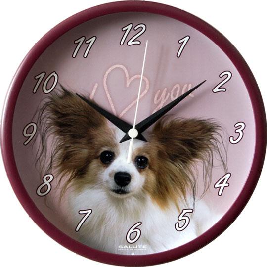 Настенные часы Салют P-2B1.3-156-SOBAKA3 настенные часы салют p 2a6 073