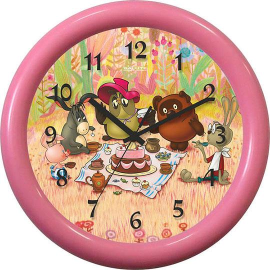 Настенные часы Салют P-3B1.1-714-DEN-ROZHDENIJA-IA настенные часы салют p b3 364 medvezhonok