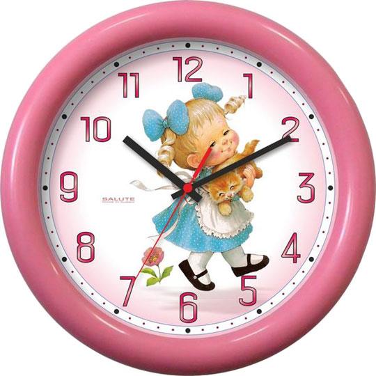Настенные часы Салют P-3B1.1-728-DEVOCHKA настенные часы салют p 2b5 367 vmf