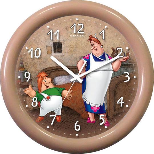 Настенные часы Салют P-3B2.2-710-FREKEN-I-KARLSON настенные часы салют p b5 447 putin2