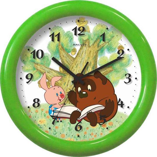 Настенные часы Салют P-3B3.4-707-VINNI-I-PJATACHOK настенные часы салют p 2a8 194 otrazhenie
