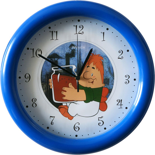 Настенные часы Салют P-3B4-709-KARLSON настенные часы салют p b3 364 medvezhonok