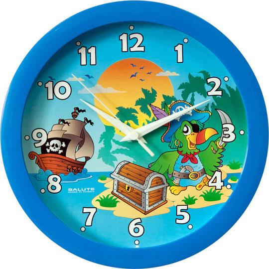 Настенные часы Салют P-B4.1-450-OSTROV-SOKROVISHH