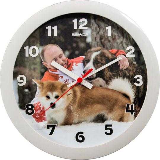 Настенные часы Салют P-B5-447-PUTIN2