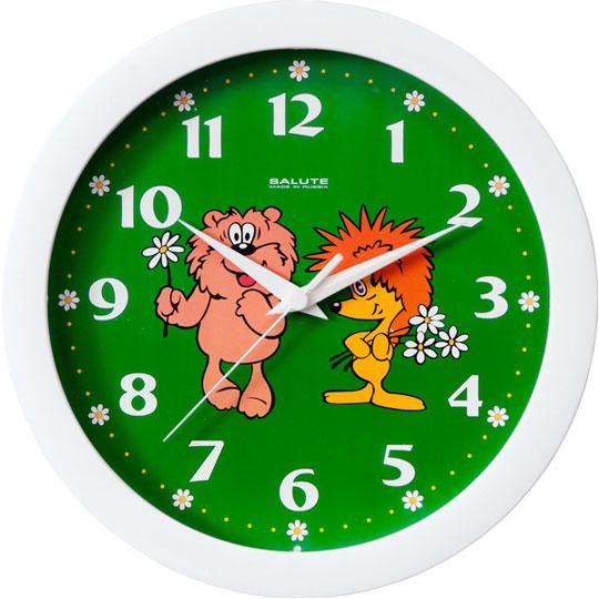 Настенные часы Салют P-B7-358 настенные часы салют p 2a6 073