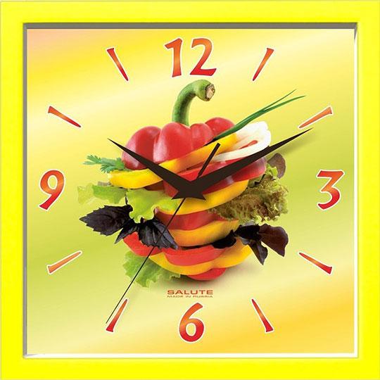Настенные часы Салют PE-A2-250-PEREC настенные часы салют p 2a6 073
