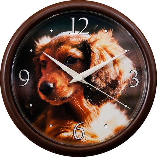 Настенные часы Салют PE-B1.2-205-SOBAKA2