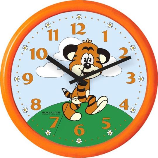 Настенные часы Салют PE-B2.1-242-TIGRENOK