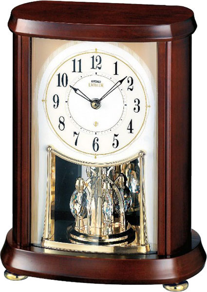 Фото «Деревянные настольные часы Seiko AHW566B-ucenka»