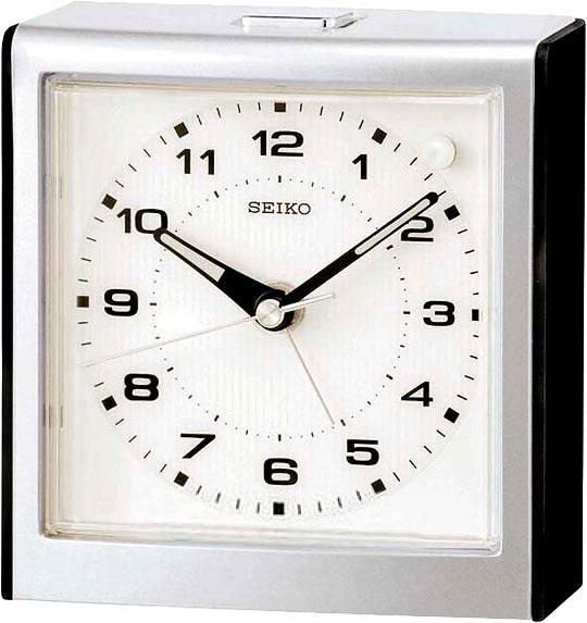 Настольные часы Seiko QHE040K будильник кварцевый mikhail moskvin цвет золотой 2816 5