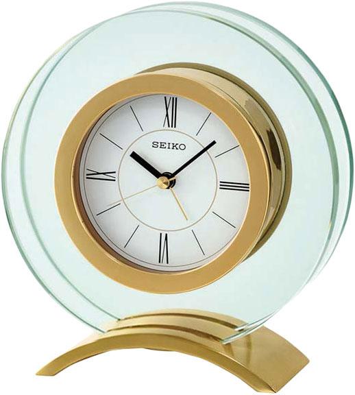 Настольные часы Seiko QHE057G сковорода d 24 см appetite green stone gs2241