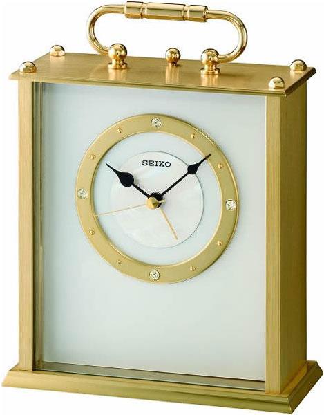 Настольные часы Seiko QHE065G seiko настольные часы seiko qhe065g