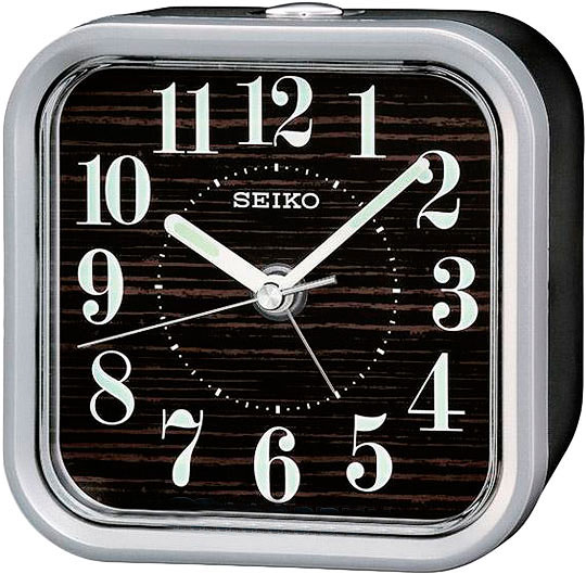 Настольные часы Seiko QHE072B будильник кварцевый mikhail moskvin цвет золотой 2816 5