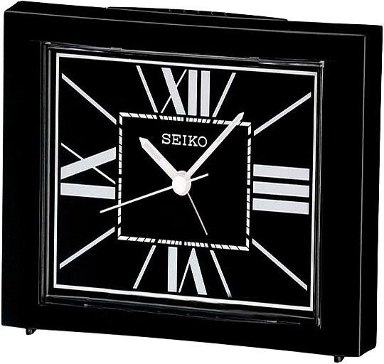 Настольные часы Seiko QHE080K будильник кварцевый mikhail moskvin цвет золотой 2816 5