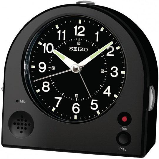 Настольные часы Seiko QHE081K будильник кварцевый mikhail moskvin цвет золотой 2816 5