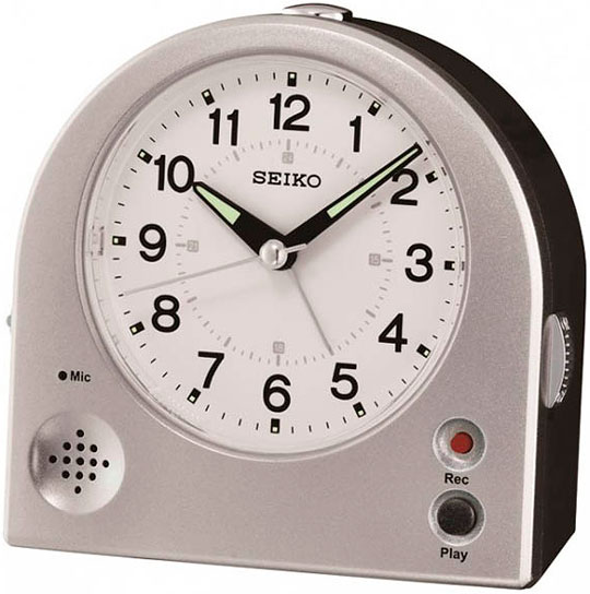 Настольные часы Seiko QHE081S будильник кварцевый mikhail moskvin цвет золотой 2816 5