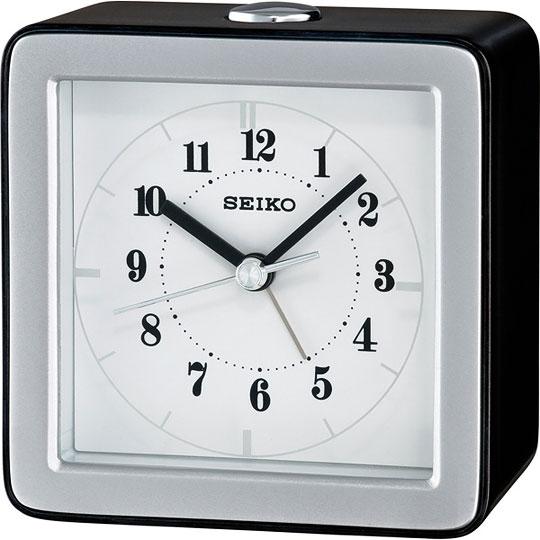 Настольные часы Seiko QHE082K будильник кварцевый mikhail moskvin цвет золотой 2816 5