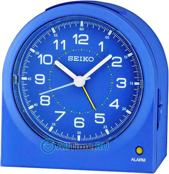 Настольные часы Seiko QHE085L будильник кварцевый mikhail moskvin цвет синий 2816 2
