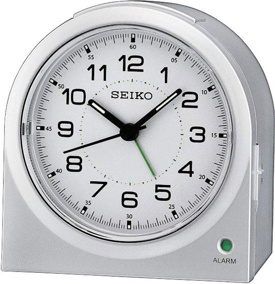 Настольные часы Seiko QHE085S будильник кварцевый mikhail moskvin цвет золотой 2816 5