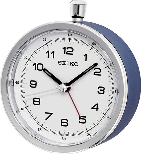 Настольные часы Seiko QHE088L будильник кварцевый mikhail moskvin цвет золотой 2816 5