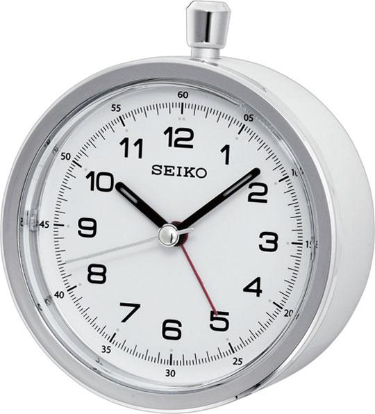 Настольные часы Seiko QHE088W будильник кварцевый mikhail moskvin цвет золотой 2816 5