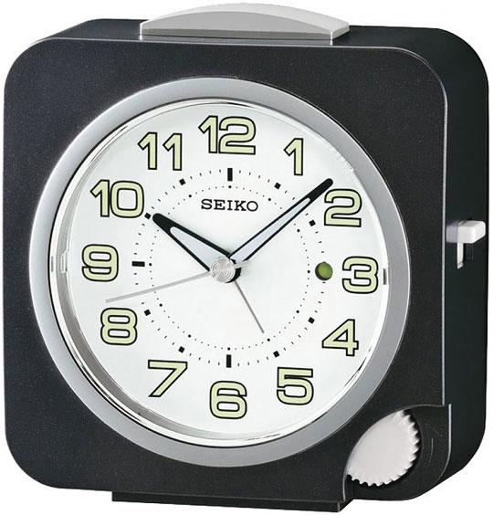 Настольные часы Seiko QHE095K будильник кварцевый mikhail moskvin цвет золотой 2816 5