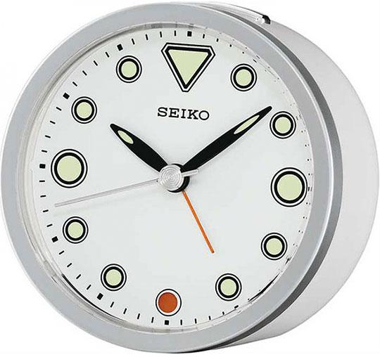 Настольные часы Seiko QHE096H будильник кварцевый mikhail moskvin цвет золотой 2816 5
