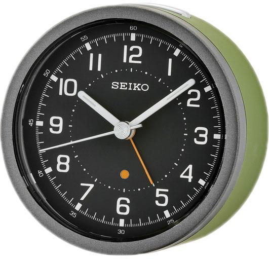 Настольные часы Seiko QHE096M будильник кварцевый mikhail moskvin цвет золотой 2816 5
