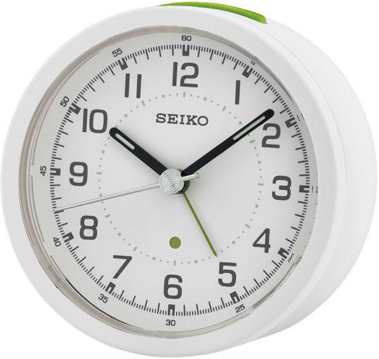 Настольные часы Seiko QHE096N будильник кварцевый mikhail moskvin цвет золотой 2816 5