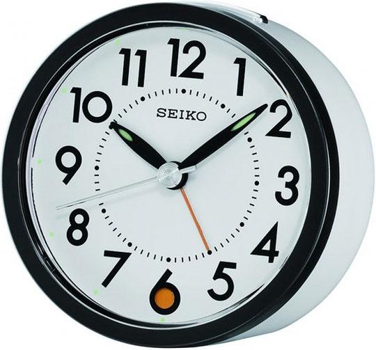 Настольные часы Seiko QHE096W будильник кварцевый mikhail moskvin цвет золотой 2816 5