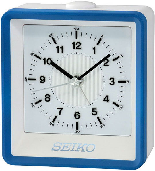 Настольные часы Seiko QHE099L будильник кварцевый mikhail moskvin цвет золотой 2816 5