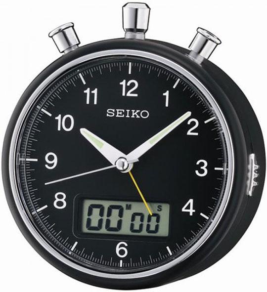 Настольные часы Seiko QHE114K будильник кварцевый mikhail moskvin цвет золотой 2816 5
