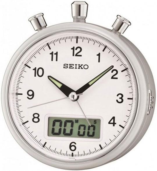 Настольные часы Seiko QHE114S будильник кварцевый mikhail moskvin цвет золотой 2816 5