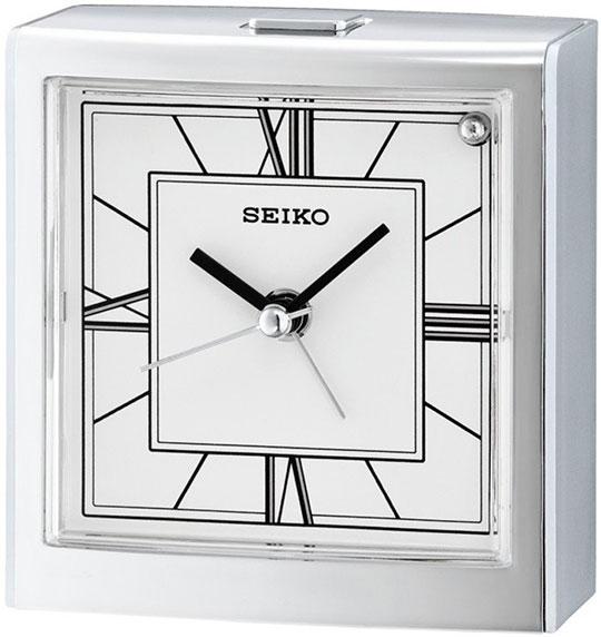 Настольные часы Seiko QHE123S будильник кварцевый mikhail moskvin цвет золотой 2816 5