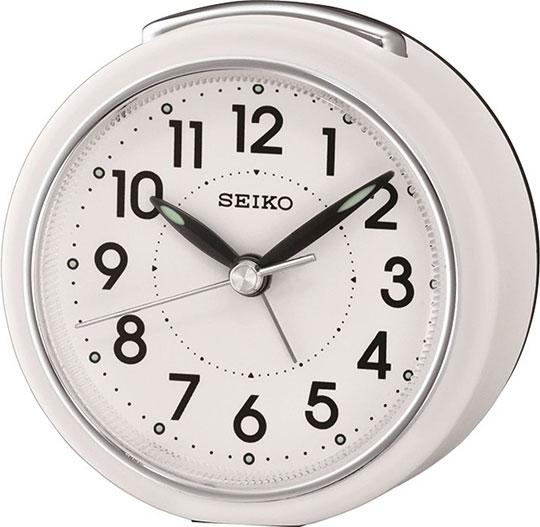 Настольные часы Seiko QHE125W будильник кварцевый mikhail moskvin цвет золотой 2816 5