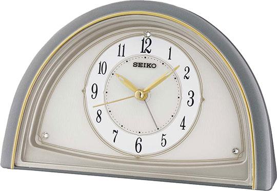Настольные часы Seiko QHE145N будильник кварцевый mikhail moskvin цвет золотой 2816 5