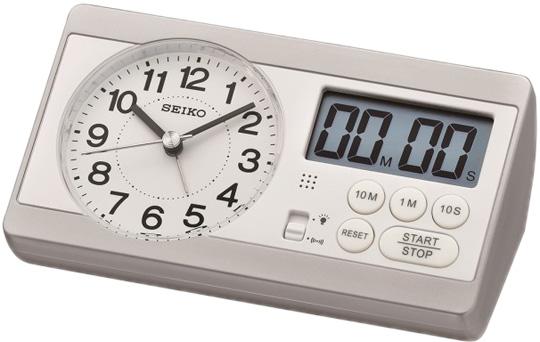 Настольные часы Seiko QHE152S будильник кварцевый mikhail moskvin цвет золотой 2816 5