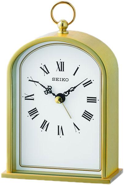 Настольные часы Seiko QHE162G будильник кварцевый mikhail moskvin цвет золотой 2816 5