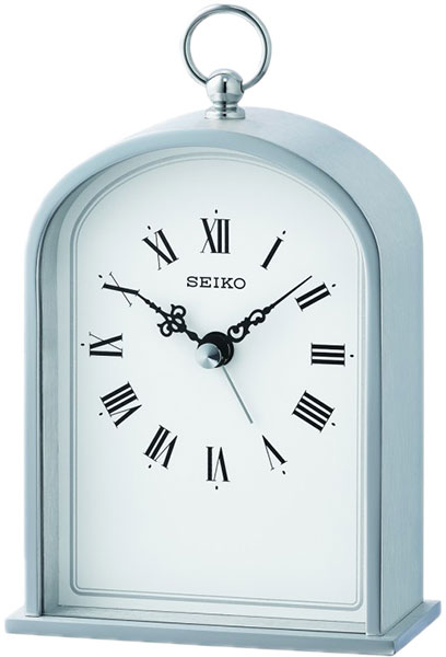 Настольные часы Seiko QHE162S будильник кварцевый mikhail moskvin цвет золотой 2816 5